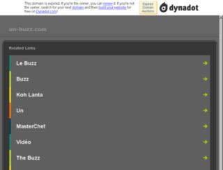 un-buzz.com screenshot