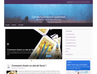 un-calcul.fr screenshot