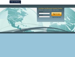 una.hostedcc.com screenshot