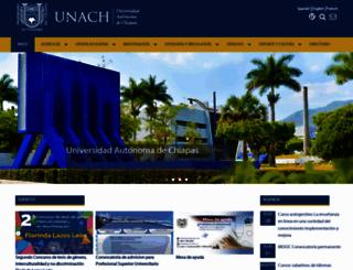 unach.mx screenshot