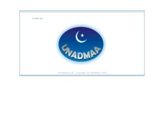 unadmaa.org screenshot