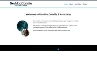 unamacconville.com screenshot
