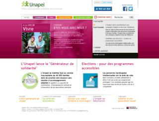 unapei.typhon.net screenshot