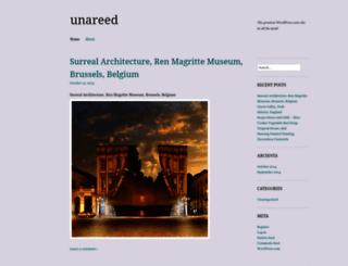 unareed.wordpress.com screenshot