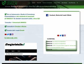 unasca.it screenshot