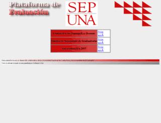 unavirtual.una.ac.cr screenshot