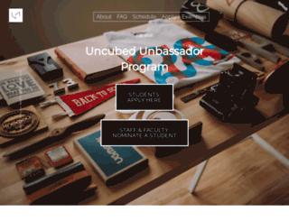 unbassador.uncubed.com screenshot