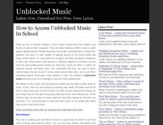 unblocked.musict.net screenshot