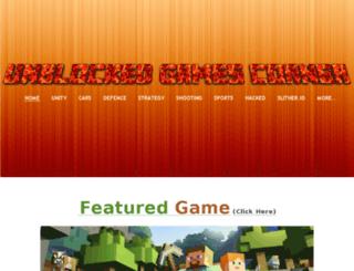 unblockedgamescorner.weebly.com screenshot