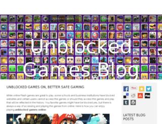 unblockedgameson.bravesites.com screenshot