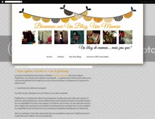 unblogunemaman.blogspot.fr screenshot