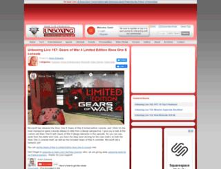 unboxing.gearlive.com screenshot