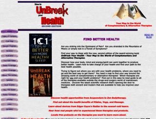 unbreakyourhealth.com screenshot