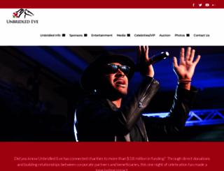 unbridledeve.com screenshot