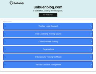 unbuenblog.com screenshot