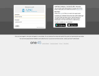 unc-ch.one45.com screenshot