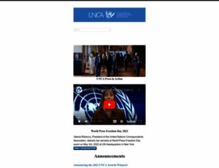 unca.com screenshot