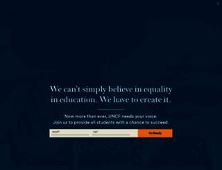 uncf.org screenshot