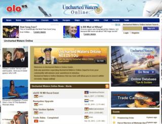 unchartedwaters.olous.com screenshot