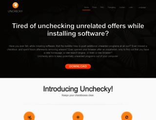 unchecky.com screenshot