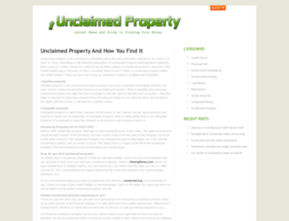 unclaimedproperty.net screenshot