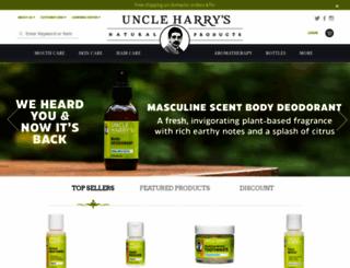 uncleharrys.com screenshot