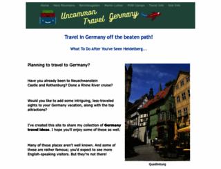 uncommon-travel-germany.com screenshot