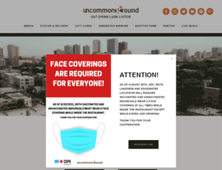 uncommonground.com screenshot