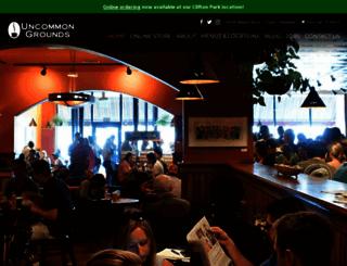 uncommongrounds.com screenshot
