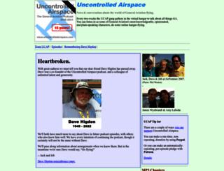 uncontrolledairspace.com screenshot