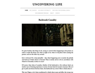 uncoveringlife.com screenshot