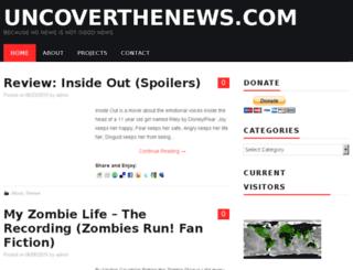 uncoverthenews.com screenshot