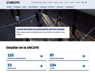 uncu.edu.ar screenshot