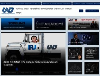 und.org.tr screenshot