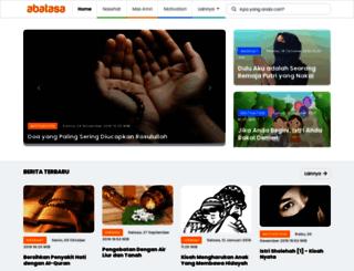 undanganpernikahan.abatasa.co.id screenshot