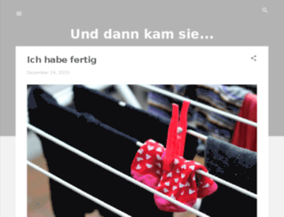 unddannkamsie.blogspot.de screenshot
