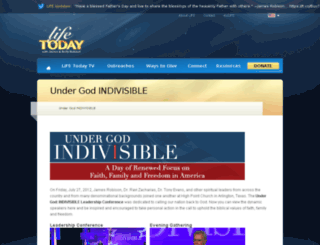 undergodindivisible.org screenshot