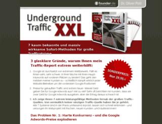 underground-traffic.de screenshot