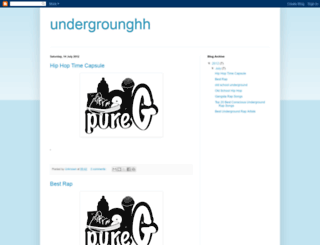 undergrounghh.blogspot.co.uk screenshot