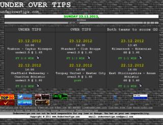 underovertips.com screenshot