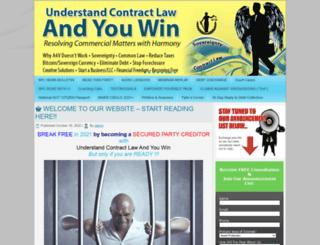 understandcontractlawandyouwin.com screenshot