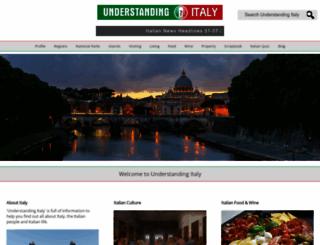 understandingitaly.com screenshot