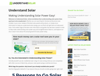 understandsolar.com screenshot