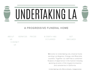 undertakingla.com screenshot