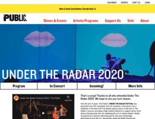 undertheradarfestival.com screenshot