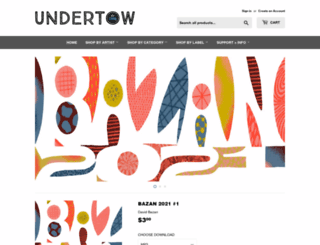 undertowstore.com screenshot