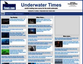 underwatertimes.com screenshot