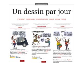 undessinparjour.wordpress.com screenshot