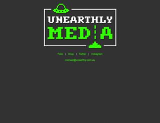 unearthly.com.au screenshot