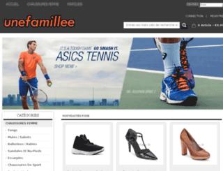 unefamilleenor.com screenshot